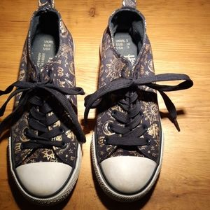HARRY POTTER Primark Navy/ Gold Size 5 Sneakers